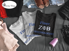 "Load image into Gallery viewer, ""FINER ZETA_Psychologist"" Jersey T-Shirt by Bella + Canvas"