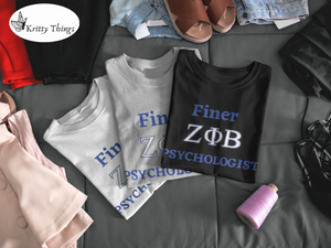 """FINER ZETA_Psychologist"" Jersey T-Shirt by Bella + Canvas"