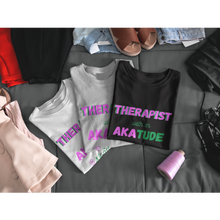 "Load image into Gallery viewer, ""AKAtude_Therapist"" Jersey T-Shirt by Bella + Canvas"