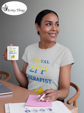 "Load image into Gallery viewer, ""Rhoyal_Therapist"" Jersey T-Shirt by Bella + Canvas"