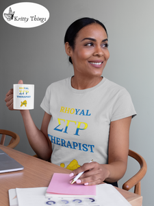 """Rhoyal_Therapist"" Jersey T-Shirt by Bella + Canvas"