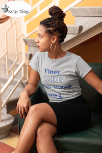 "FINER ZETA_Social Worker"" T-Shirt by Bella + Canvas,"