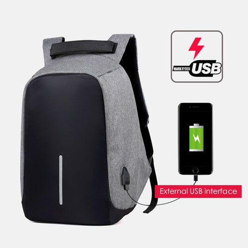 Laptop Backpack USB Charging Anti Theft Travel Backpack Multifunction Waterproof School Bag Unisex Notebook (Various Colors)
