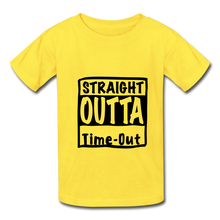 Load image into Gallery viewer, Hanes Youth Tagless T-Shirt - yellow