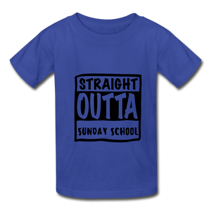 Hanes Youth Tagless T-Shirt - royal blue