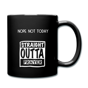 """NOPE NOT TODAY""  Mug - black"