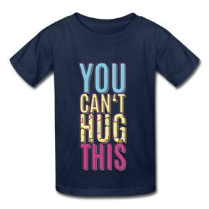 Hanes Youth Tagless T-Shirt - navy
