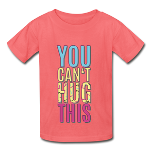 Hanes Youth Tagless T-Shirt - coral