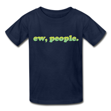 "Load image into Gallery viewer, ""Ew People"" Gildan Ultra Cotton Youth T-Shirt - navy"