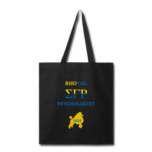 """Rhoyal_Psychologist"" Tote Bag - black"