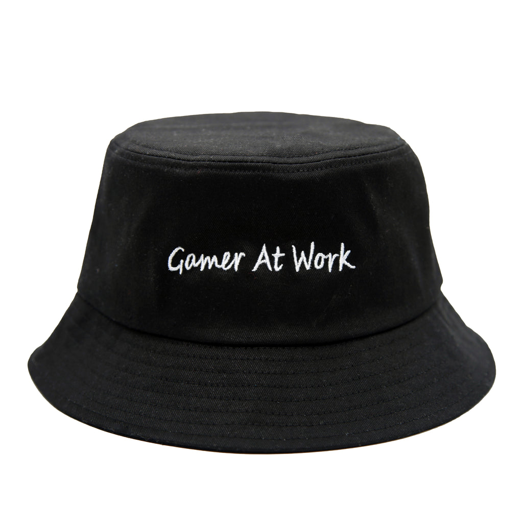 "【Circulation】""Gamer at work"" Bucket Hat"