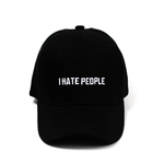 "【Circulation】""I Hate People"" Baseball Cap"