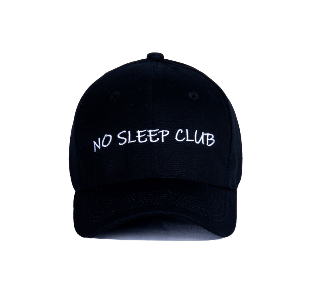 "【Circulation】""No Sleep Club"" Baseball Cap"