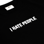 "【Circulation】""I Hate People"" Oversized T-shirt"