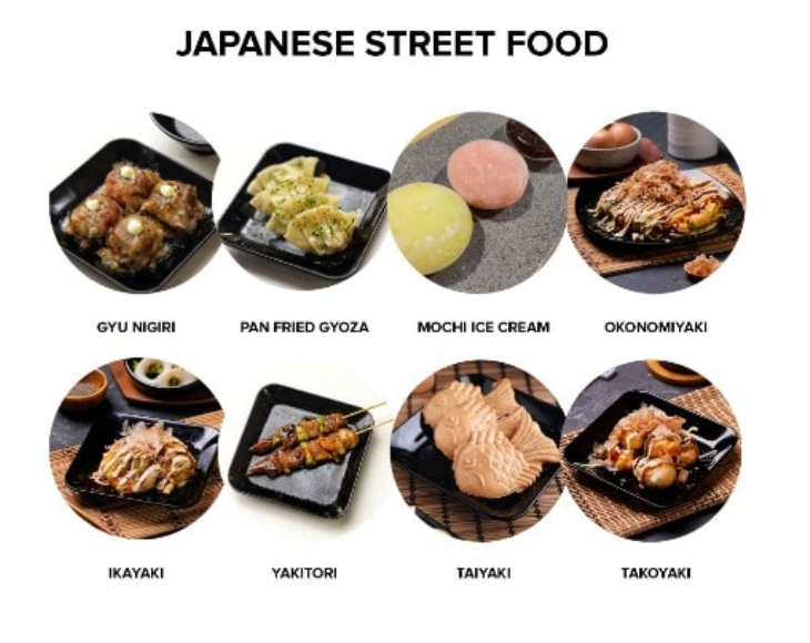[JKT-only] Japanese Street Food Package