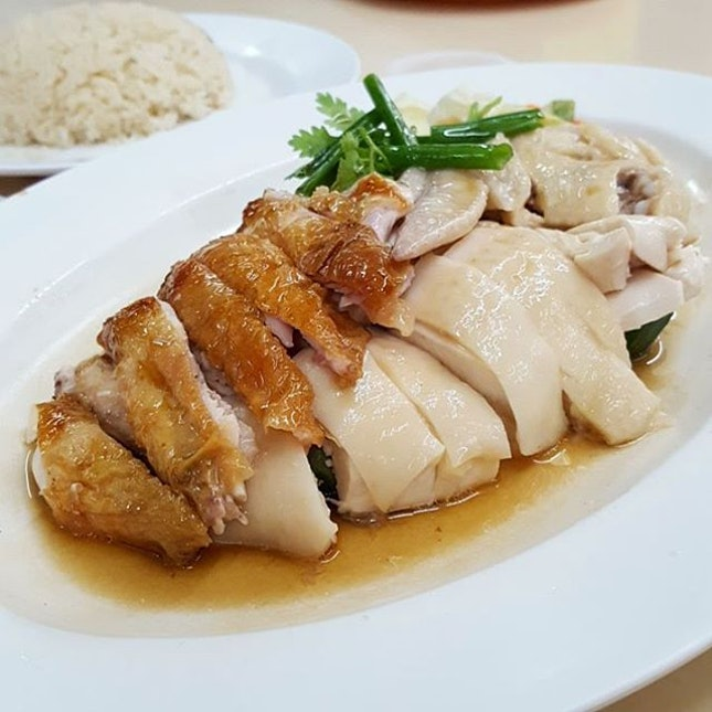 Half&Half Chicken and Duck Over Rice