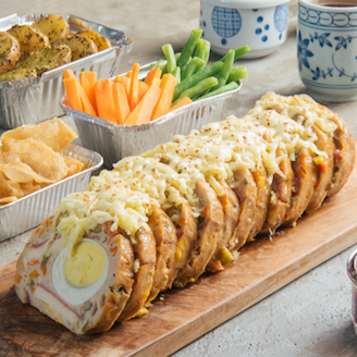 Chicken Loaf and Boneless Kyoto Pork Baikut