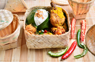 [Wednesday 16 Sep] Nasi Besek Ayam Keremes