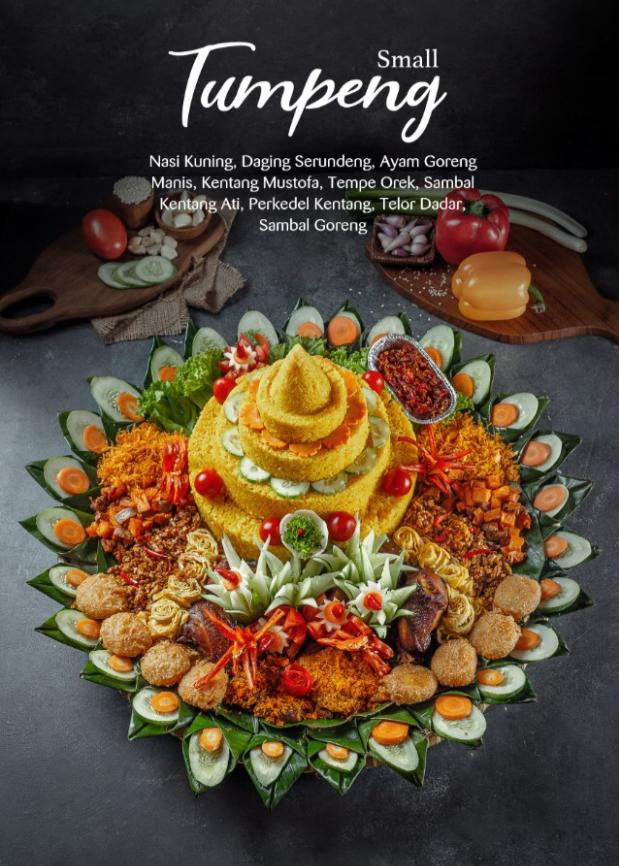 Tumpeng Small (8 pax)