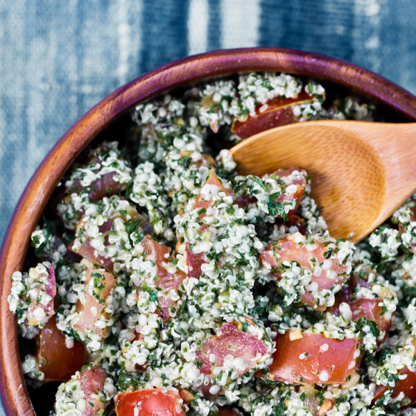 Hemp Seed Tabbouleh recipe