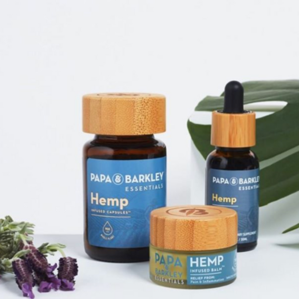 Papa & Barkley's Hemp Essentials product range