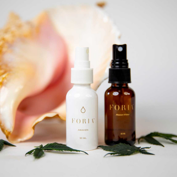 Enhanced Pleasure And  Sexual Renewal With Foria's CBD and THC Products