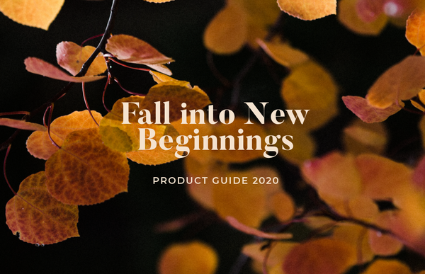 Fall into New Beginnings Product Guide 2020