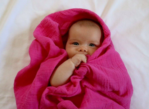 Bundles of Hope Hemp swaddle blanket