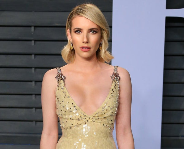 Actress Emma Roberts who uses CBD Oil