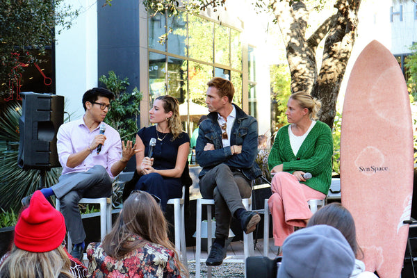 Hempanna Platform Los Angeles CBD panel discussion Dr. Jeff Chen, Jessica Assaf, Christopher Gavigan, Megan Villa