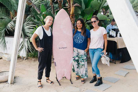Svn Space co-founders megan Villa, Grace Saari, Monica Campana Hempanna Four Moons Spa