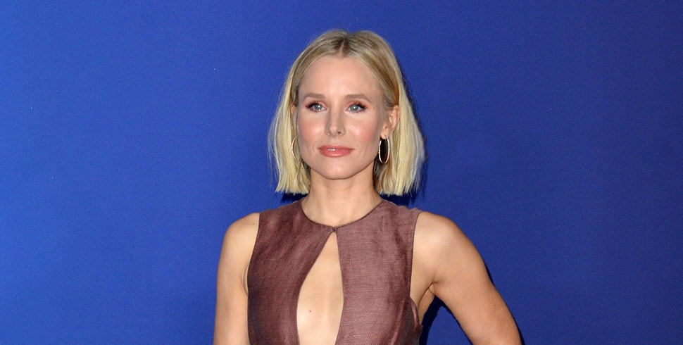 Actress Kristen Bell who uses CBD Oil