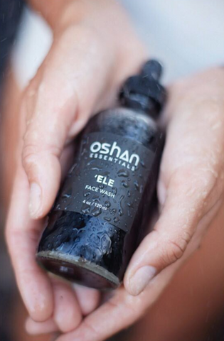 Oshan 'Ele Hemp Seed Oil Face Wash