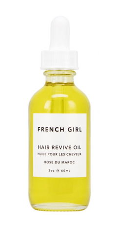 French Girl Hair Revive Oil made with hemp seed oil