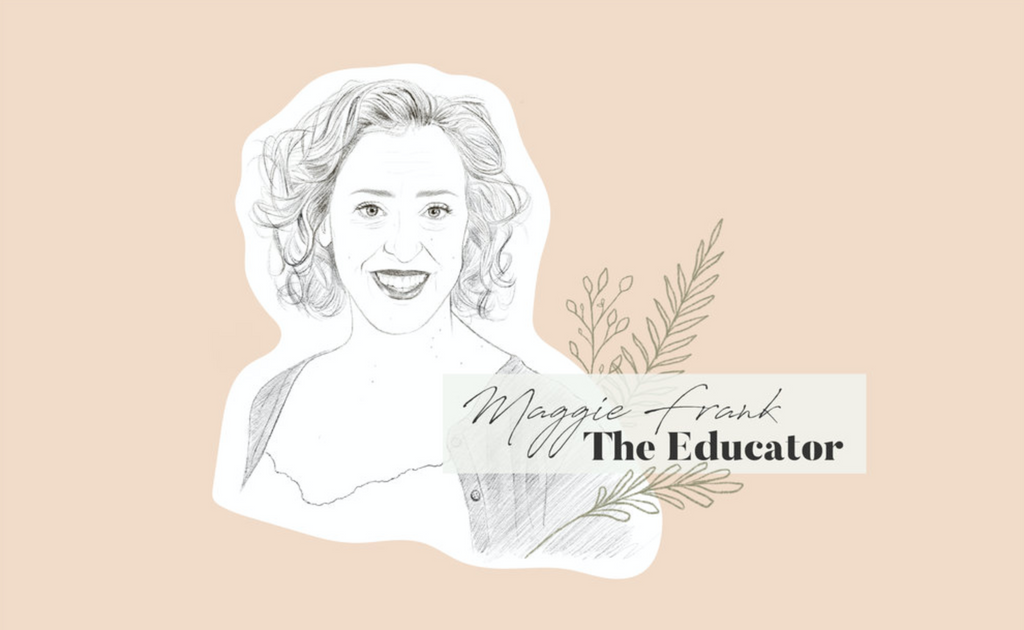 National Educator for CBD brand CV Sciences, Maggie Frank