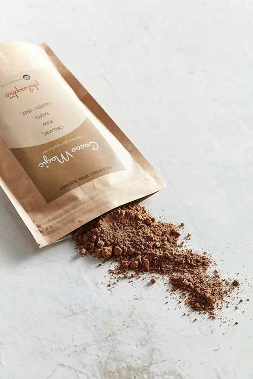 Philosophie's Cacao Magic Hemp protein powder.