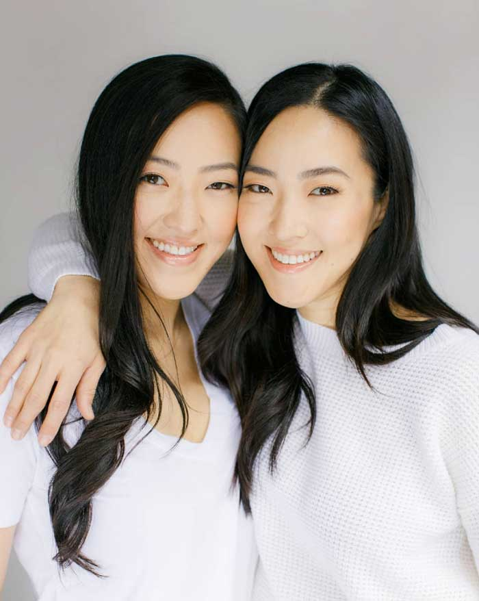 Two Cranes Botanicals Co-Founders Susun Chung & Hanna Yi