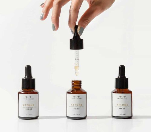 Two Cranes Botanicals CBD Tincture