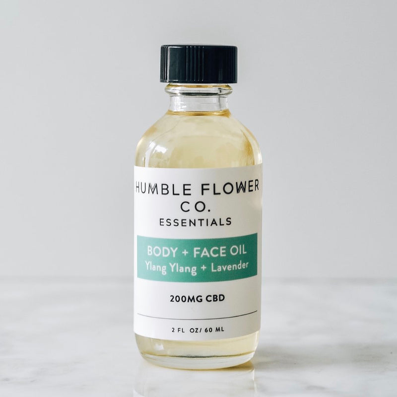 CBD Body and Face Oil