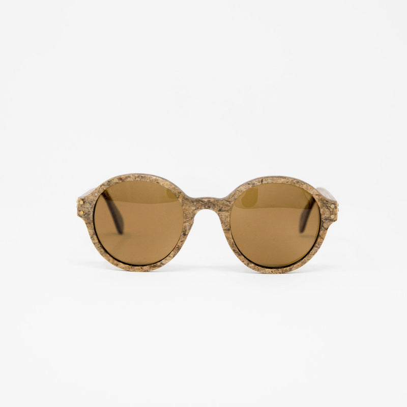 "Front view of Hemp Eyewear ""Hamburg"" by Svn Space."