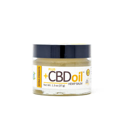 PlusCBD Oil™ Extra Strength Balm Front Label