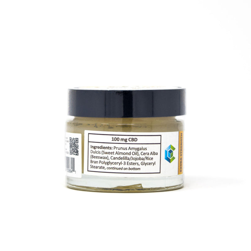 PlusCBD Oil™ Extra Strength Balm Side Label