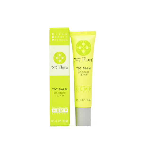 707 Flora CBD Moisture Repair Balm full front view by Svn Space.