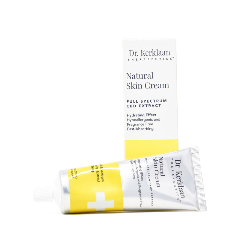 Dr. Kerklaan Natural Skin Cream with 120mg CBD full front view by Svn Space.