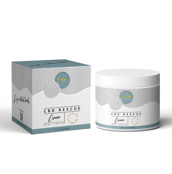 FAM Organics CBD Rescue Cream