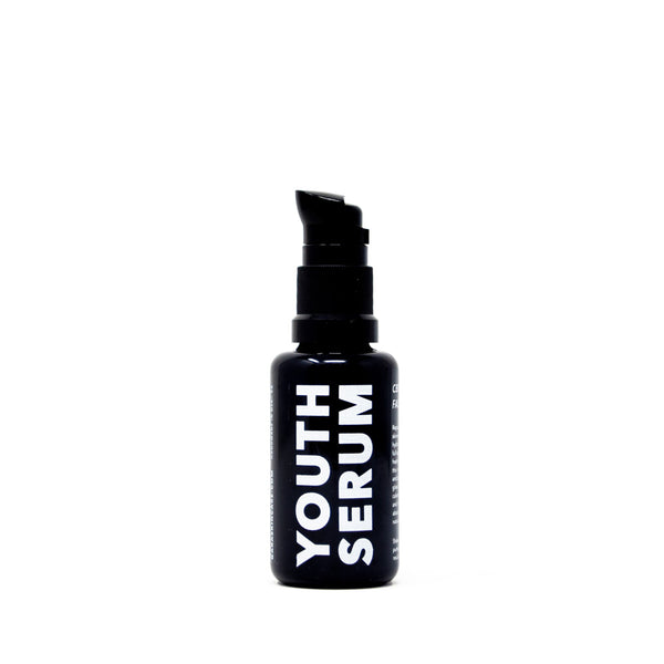 Gara Skincare Youth Serum with 50mg CBD front view by Svn Space