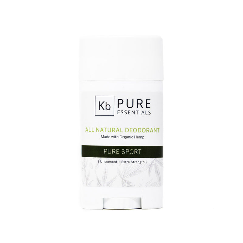 KB Pure Essentials Hemp Deodorant, front view by Svn Space.