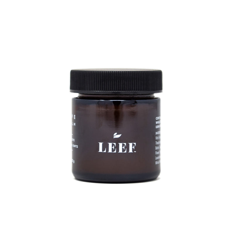 Leef Revive CBD Balm front view by Svn Space.