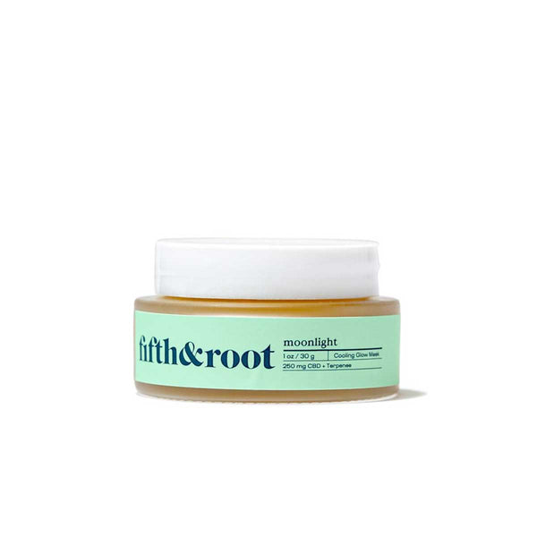 Moonlight Cooling Glow Mask front of container