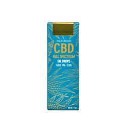 Shea Brand CBD Full Spectrum Oil Drops front view by Svn Space.